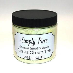 All natural essential oil bath salts